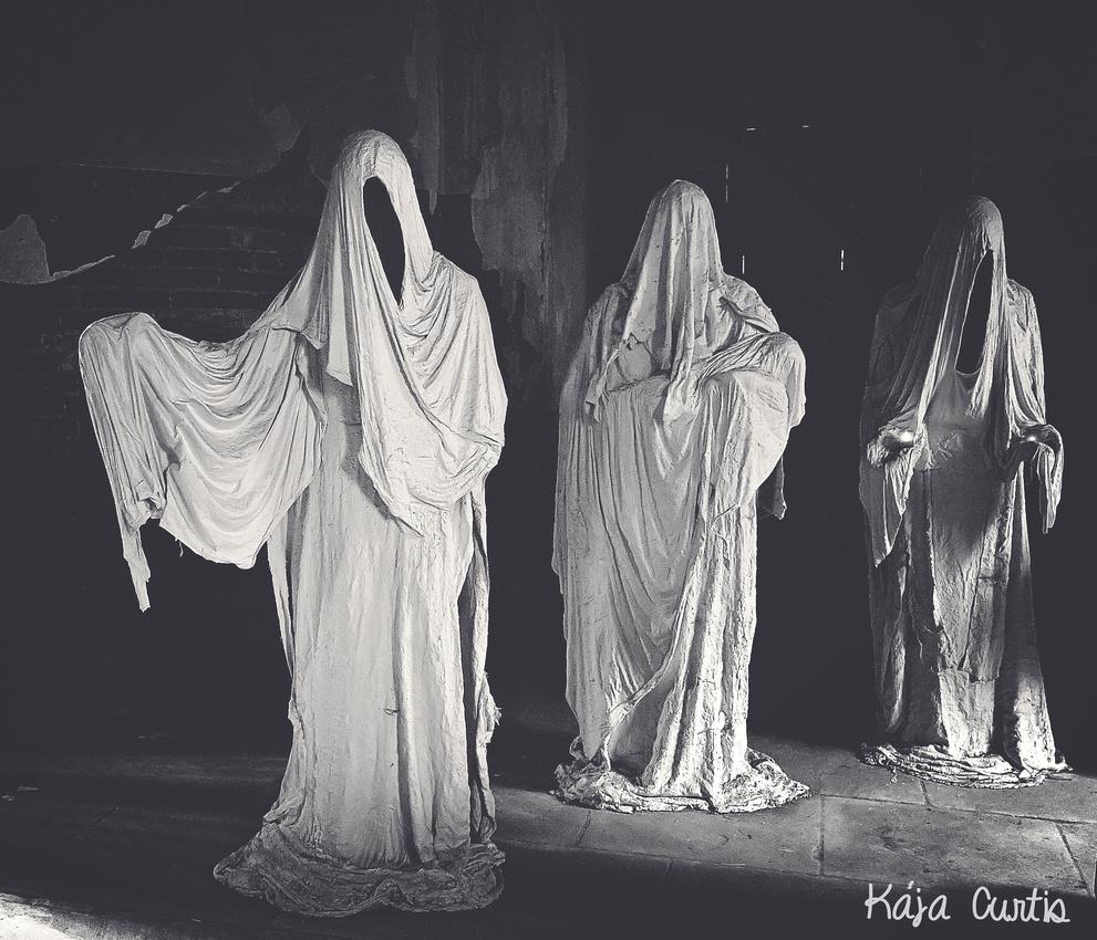 """""""Ghost Church"""" at Luková u Manětín"""